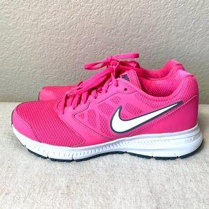 NIKE Downshifter 6 Hot Pink Running Shoe (6.5)